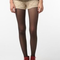 UrbanOutfitters.com > Sparkle & Fade Cable Knit Short
