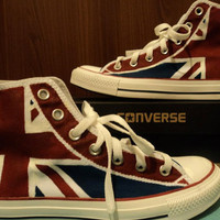 London Night: custom converse