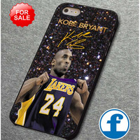 kobe la lakers nba basketball sport on sparkle glitter for iphone, ipod, samsung galaxy, HTC and Nexus phone case