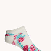 Wild Rose Ankle Socks