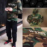 Couple Hoodies Fashion Camouflage Top [8598686979]