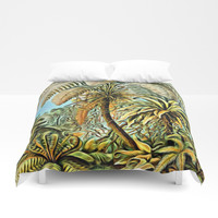TROPICAL JUNGLE Duvet Cover by Digital Effects
