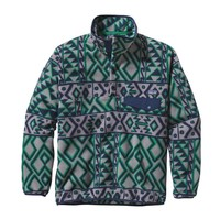 Patagonia Men's Synchilla® Recycled Snap-T® Fleece Pullover | Montana Siete: Feather Grey
