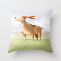 The Summer Wind Throw Pillow by Dale Keys | Society6
