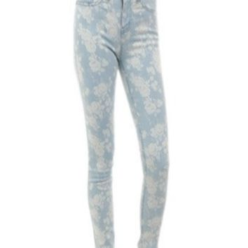 Flower Power Denim