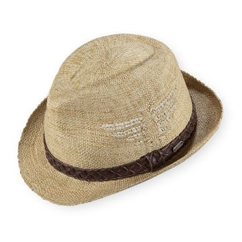 Pistil Designs Men's T-Bird Fedora Sun Hat, One Size, Natural