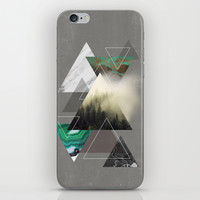 Triangles Symphony iPhone & iPod Skin by Cafelab