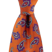 Ted Baker Ocean Fashion Paisley Silk Tie