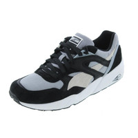 Puma Mens Trinomic R698 Suede Colorblock Casual Shoes