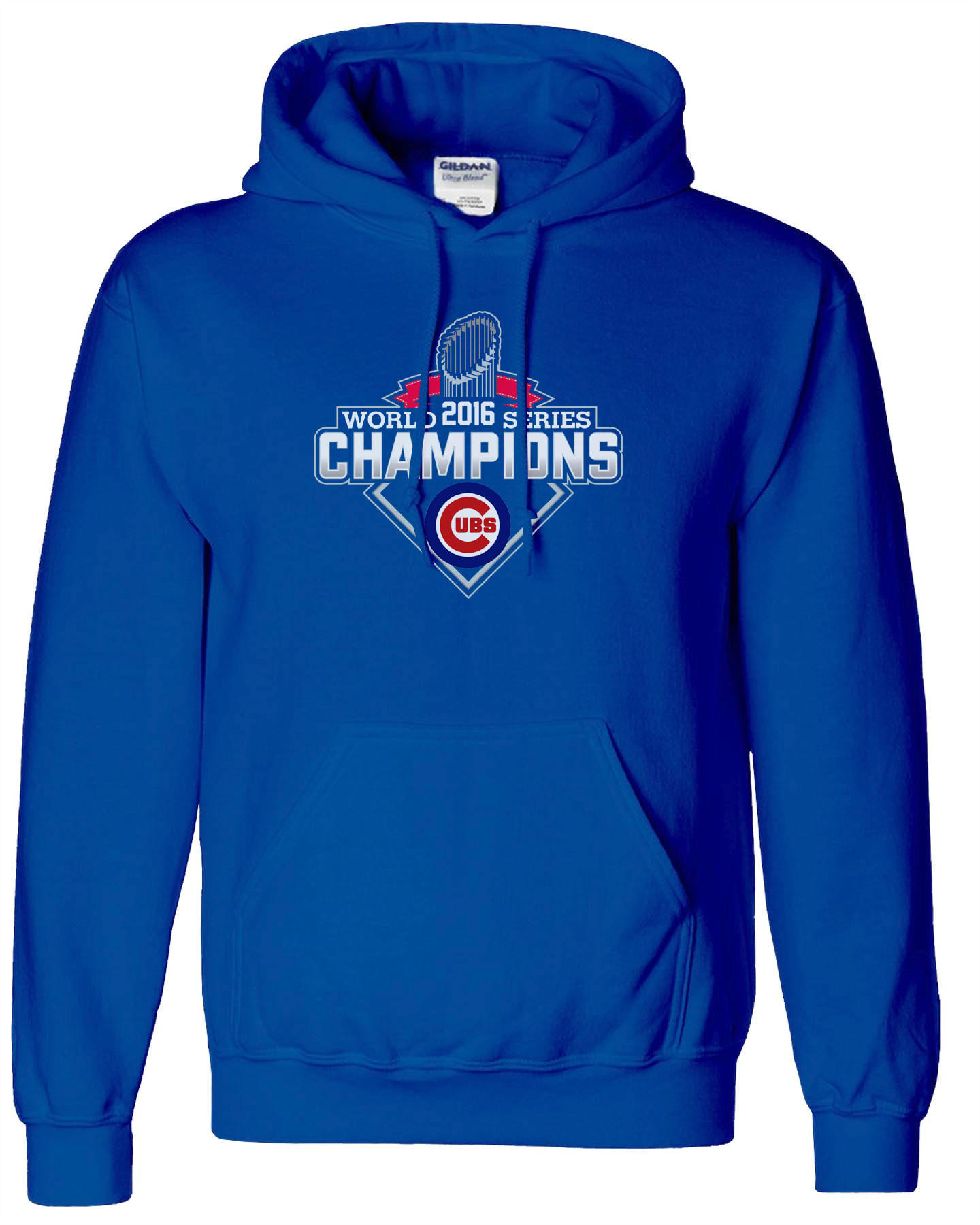 premium selection 8cb8d 4a59a Chicago Cubs 2016 World Series Champions Hoodie Hooded Sweatshirt