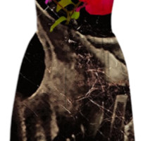 Death and Flowers Summerdress created by Rudimencial Design | Print All Over Me