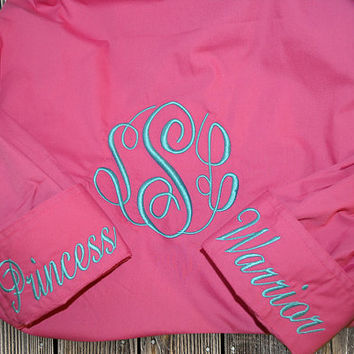NEW! Monogram Fishing Shirts, LONG Sleeve Fishing Shirts, Monogram Beach Cover Up, Beach Fishing Shirt