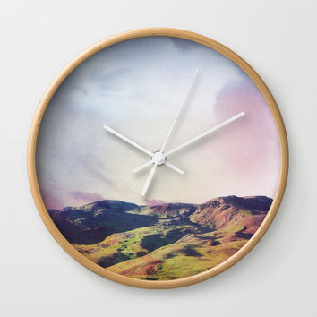 Memories of Iceland Wall Clock by LindaRosa
