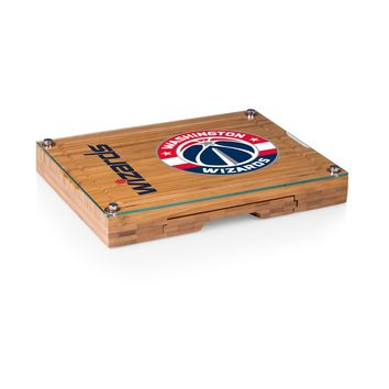 Washington Wizards - 'Concerto' Glass Top Cheese Board & Tools Set by Picnic Time
