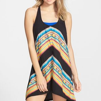 Junior Women's Rip Curl 'Sunset Surf' Cover-Up Dress