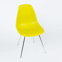 Classroom Slope Chair in Mustard