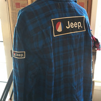 Jeep Double Vintage Throwback Flannel L