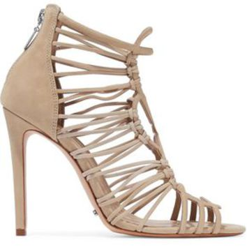 Naama cutout nubuck sandals | SCHUTZ | Sale up to 70% off | THE OUTNET