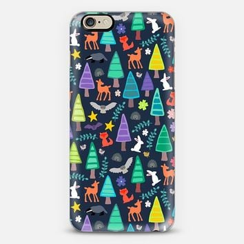 midnight woodland iPhone 6 case by Sharon Turner | Casetify