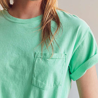 Silence + Noise Easy Pocket Tee | Urban Outfitters