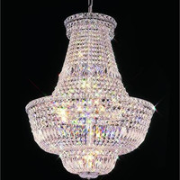 Premier - Hanging Fixture (22 Light Modern Hanging Crystal Chandelier) - 4406D22