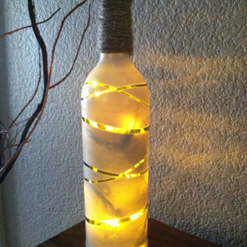 Decorative Wine Bottles Lights Prepossessing Shop Decorative Lighted Wine Bottles On Wanelo Decorating Inspiration