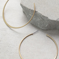 Alter Ego Gold Hoop Earrings