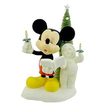 Dept 56 Snowbabies A MICKEY MELODY 69823 Christmas Disney Mouse New