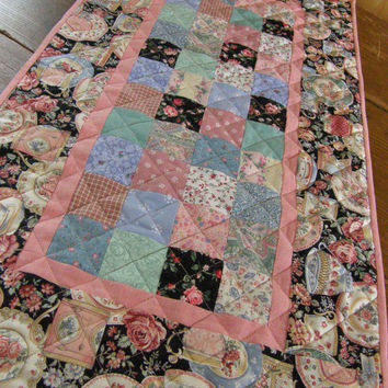 Cottage Chic Table Runner - Patchwork