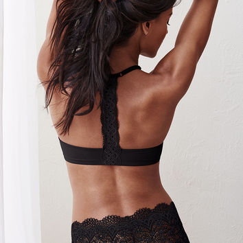 Front-close Racerback Demi Bra - Body by Victoria - Victoria's Secret