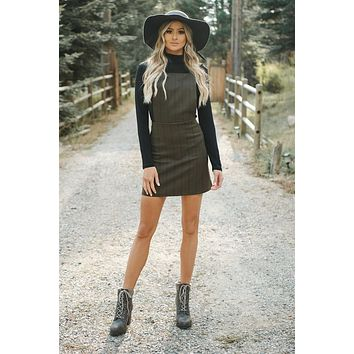 Keep Me In Mind Dress (Olive)