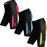 New Women's Cycling Shorts 3D Padded Bike/Bicycle LadiesTight S-3XL WEOCS001 3 Color