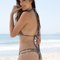 ACACIA SWIMWEAR - Molokini Bottom | Snow Leopard