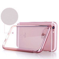 Luxury TPU Silicone Cover Case For iPhone 6 6S / 6 Plus / 6S Plus Coque Fashion Transparent Matte Ultra-thin+Soft Clear New 2016