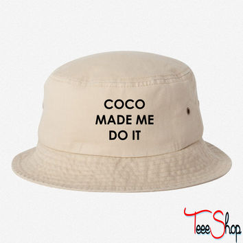 Coco made me do it bucket hat
