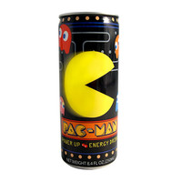 Pac Man Power Up Energy Drink