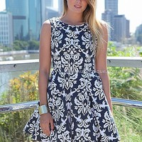 LAZY FILIGREE DRESS , DRESSES, TOPS, BOTTOMS, JACKETS & JUMPERS, ACCESSORIES, SALE, PRE ORDER, NEW ARRIVALS, PLAYSUIT, Australia, Queensland, Brisbane