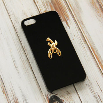 Cancer iPhone 5 Case iPhone 5s Zodiac Sign iPhone 6 Plus Case Cancer Lobster Crab Galaxy S4 Cancer Sign Lobster Case Animal Unique Snap