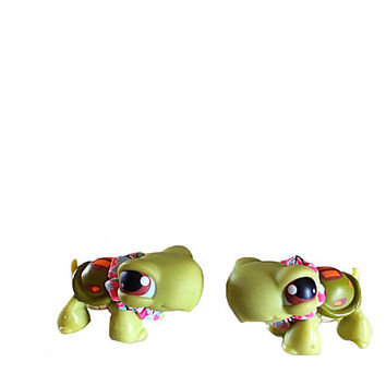 Littlest Pet Shop, Turtle Set, LPS Twin Turtles, Lps Teensies, Lps Pig, Lps Frog, Little Pets Easter, Lps On The Go, Collectible LPS, Easter