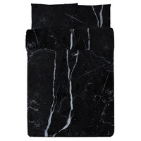 Black Marble Duvet Set