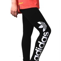 DCCKFM6 Adidas' Women Exercise Sport Pants Trousers Sweatpants