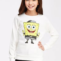 SpongeBob Graphic Sweatshirt (Kids)