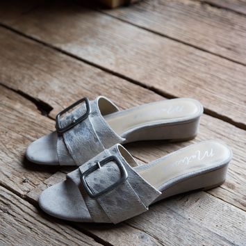 Ever After Wedge Slide, Ivory | Coconuts By Matisse