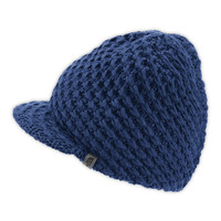 The North Face Men's Accessories Hats & Scarves CHUNKY KNIT VISOR BEANIE