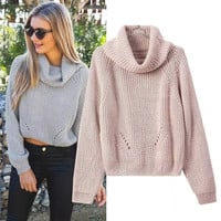 Pullover Sweater Winter Sweatshirt [9582220687]