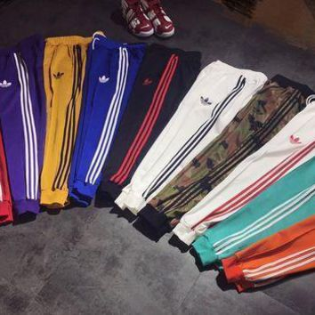 Adidas Stylish Trending Classic Women Men Leisure Sport Pants Sweatpants(11-Color) I