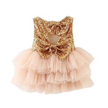 Baby Girl Baptism Dress For Newborn Baby Girl First Birthday Outfit Infant Party Dress Children Costume For Girls Kids Clothes