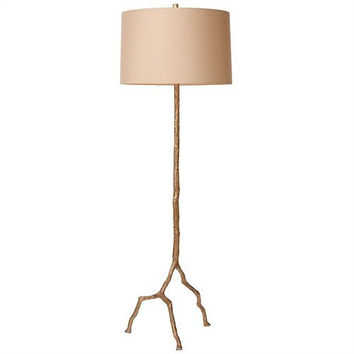 Arteriors Home Forest Park Distressed Silver Iron Floor Lamp - Arteriors Home 73101-659