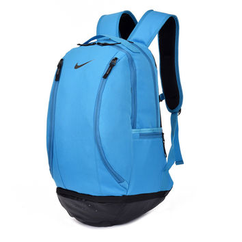 """Nike"" Simple Style Travel Daypack Handbag Laptop Backpack School Bag"