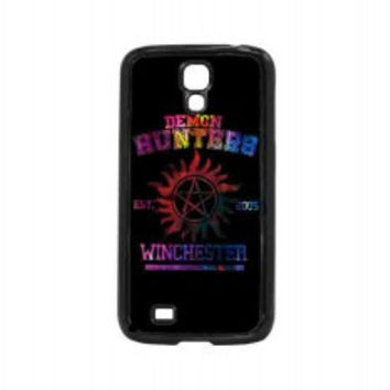 supernatural demon hunters galaxy for samsung galaxy s4 case